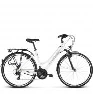 Велосипед Kross Trans 1.0 (2019) White/Black Glossy