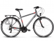 Велосипед Kross Trans 1.0 (2019) Graphite/Red/White Matte 1