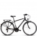Велосипед Kross Trans 1.0 (2019) Black/White Matte 1