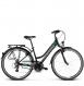 Велосипед Kross Trans 2.0 (2019) Black/Mint/Silver Matte 1