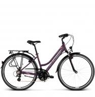 Велосипед Kross Trans 2.0 (2019) Violet/Pink/Silver Matte