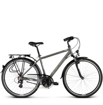 Велосипед Kross Trans 2.0 (2019) Graphite/Gray/Silver Glossy