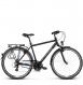 Велосипед Kross Trans 2.0 (2019) Black/Blue/Silver Matte 1