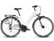 Велосипед Kross Trans 3.0 (2019) White/Sky Blue/Black Glossy 1