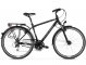 Велосипед Kross Trans 3.0 (2019) Black/Blue/Silver Matte 1