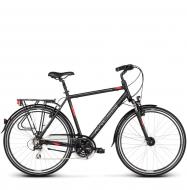 Велосипед Kross Trans 3.0 (2019) Black/Red/Silver Matte