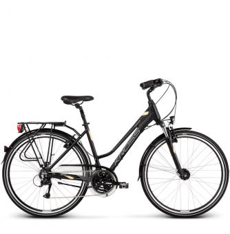 Велосипед Kross Trans 4.0 (2019) Black/Cream/Silver Matte