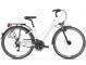 Велосипед Kross Trans 4.0 (2019) White/Green/Graphite Glossy 1