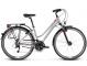 Велосипед Kross Trans 4.0 (2019) Silver/Graphite Glossy 1