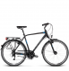 Велосипед Kross Trans 4.0 (2019) Black/Blue/Silver Matte 1