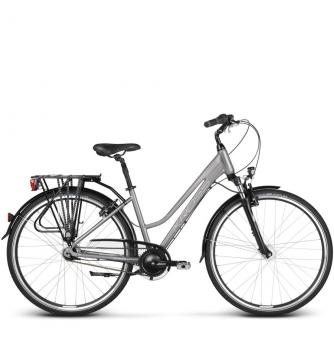 Велосипед Kross Trans 6.0 (2019) Graphite /Silver Glossy