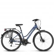 Велосипед Kross Trans 7.0 (2019) Blue/Silver Matte