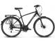 Велосипед Kross Trans 7.0 (2019) Black/Blue/Silver Matte 1