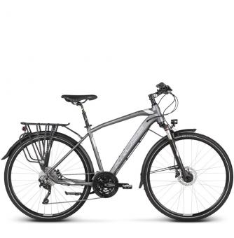 Велосипед Kross Trans 9.0 (2019) Graphite/Silver Matte