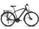 Велосипед Kross Trans 10.0 (2019) Black/Blue/Silver Matte 1
