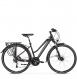 Велосипед Kross Trans 11.0 (2019) Black/Violet/Silver Matte 1