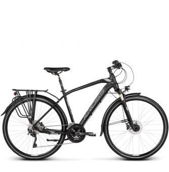 Велосипед Kross Trans 11.0 (2019) Black/Graphite/Silver Matte