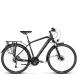 Велосипед Kross Trans 11.0 (2019) Black/Graphite/Silver Matte 1