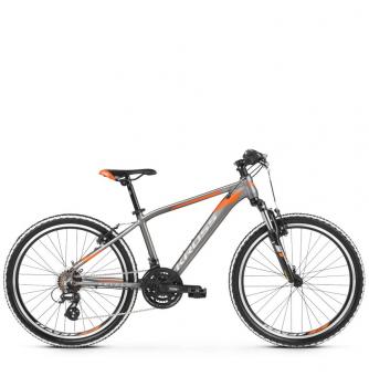 "Подростковый велосипед Kross Level JR 2.0 24"" (2019) Graphite/Orange Glossy"