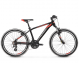 "Подростковый велосипед Kross Level JR 2.0 24"" (2019) Black/Red/Silver Matte 1"