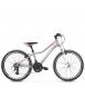 "Подростковый велосипед Kross Lea JR 2.0 24"" (2019) Silver/Pink/White Matte 1"