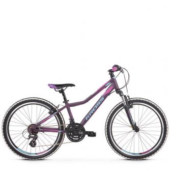 "Подростковый велосипед Kross Lea JR 2.0 24"" (2019) Violet/Blue/Pink Matte"