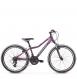 "Подростковый велосипед Kross Lea JR 2.0 24"" (2019) Violet/Blue/Pink Matte 1"