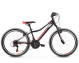 "Подростковый велосипед Kross Hexagon JR 1.0 24"" (2019) Black/Red/Silver Glossy 1"