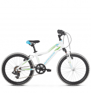 "Детский велосипед Kross Lea Mini 20"" (2019) White/Blue/Green Glossy"
