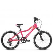 """Детский велосипед Kross Lea Mini 20"""" (2019) Pink/Orange Matte"""