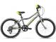 "Детский велосипед Kross Hexagon Mini 20"" (2019) Graphite/Lime/Silver Glossy 1"