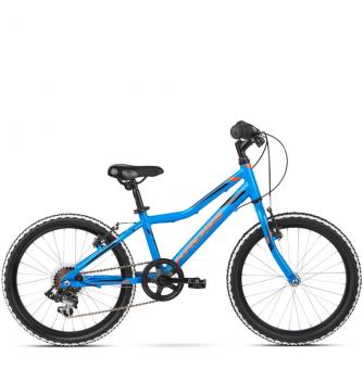 "Детский велосипед Kross Hexagon Mini 20"" (2019) Blue/Orange Glossy"