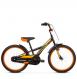 "Детский велосипед Kross Racer 20"" (2019) Black/Yellow/Orange Glossy 1"