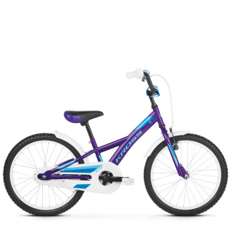 "Детский велосипед Kross Mini 20"" (2019) Violet/Blue Glossy"