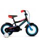 "Детский велосипед Kross Racer 12"" (2019) Black/Blue/Red Glossy 1"