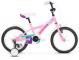 "Детский велосипед Kross Mini 16"" (2019) Pink/Violet/Turquoise Glossy 1"