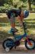 "Детский велосипед Kross Racer 12"" (2019) Blue/Red Glossy 2"