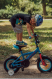 """Детский велосипед Kross Racer 12"""" (2019) Orange/Turquoise/Blue Glossy 2"""