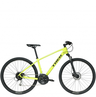 Велосипед Trek Dual Sport 3 Yellow (2019)