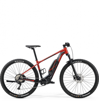 Электровелосипед Merida eBig.Nine 500 (2019) Red (Black)