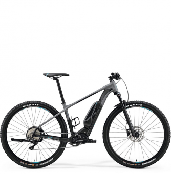 Электровелосипед Merida eBig.Nine 500 (2019) Matt-Grey/Black