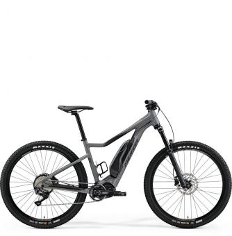"Электровелосипед Merida eBig.Trail 500 27,5""+(2019) Matt-Grey (Black)"