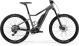 "Электровелосипед Merida eBig.Trail 500 27,5""+(2019) Matt-Grey (Black) 1"