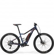 "Электровелосипед Merida eBig.Trail 500 27,5""+(2019) Metallic Blue/Black"