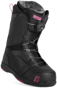 Ботинки для сноуборда Nidecker Onyx Boa Coil Black (2019)