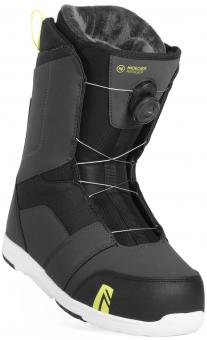Ботинки для сноуборда Nidecker Ranger Boa Charcoal (2019)