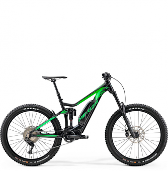 Электровелосипед Merida eOne-Sixty 900 (2019) Silk Black (Green)
