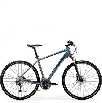 Велосипед Merida Crossway 500 (2019) Matt-Dark Silver