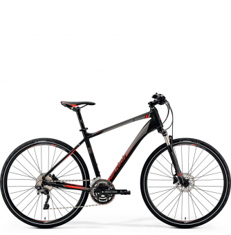 Велосипед Merida Crossway 500 (2019) Matt-Black