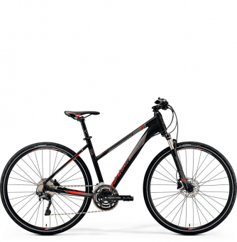 Велосипед Merida Crossway 500 Lady (2019) Matt-Black